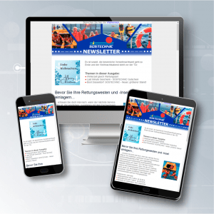 Aufgabe: Gestaltung und Text eines responsive Newsletters mit einem professionellen Adressmanagement, der regelmäßig Kunden informiert. Erscheinung: 4x jährlich Umsetzung: Grafik, Design, Text, Versand